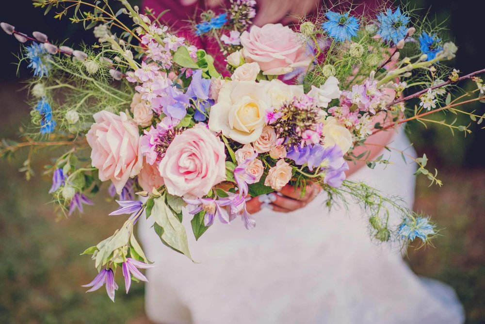 Bouquet by  Cottage Garden Weddings - Bespoke Wedding Florist