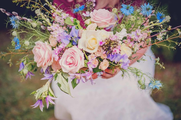Bouquet by  Cottage Garden Weddings - Bespoke Wedding Florist