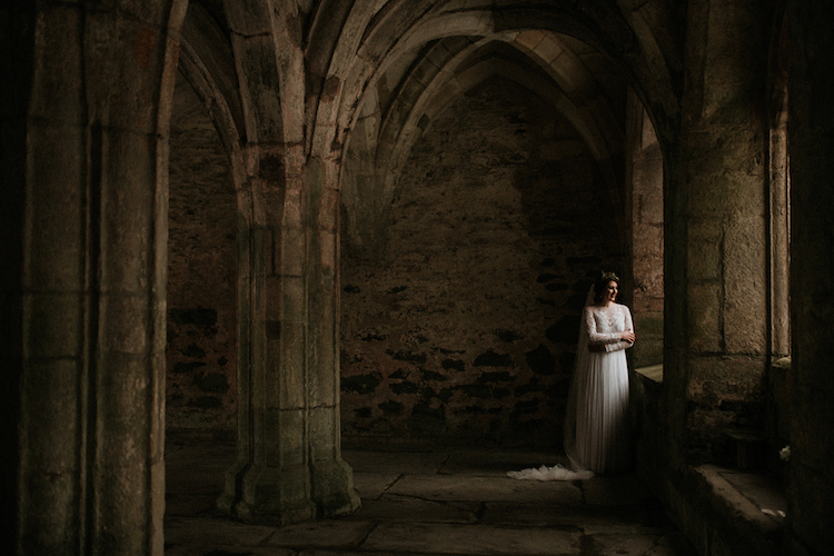 And so to Wed - Valle Crucis Abbey - Avonné Photography31.jpg