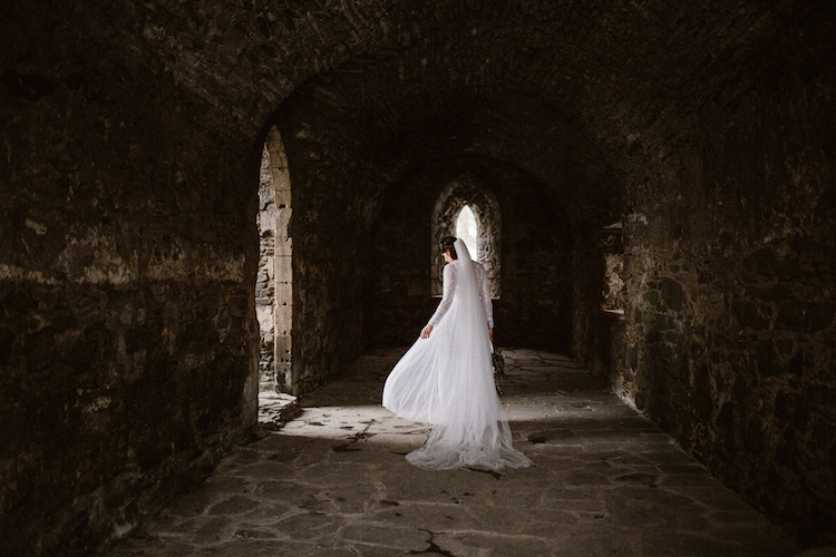 And so to Wed - Valle Crucis Abbey - Avonné Photography37.jpg