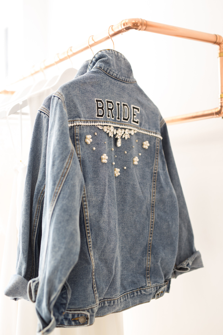 And so to Wed - Beespoke - Bride Denim Jacket13.jpg