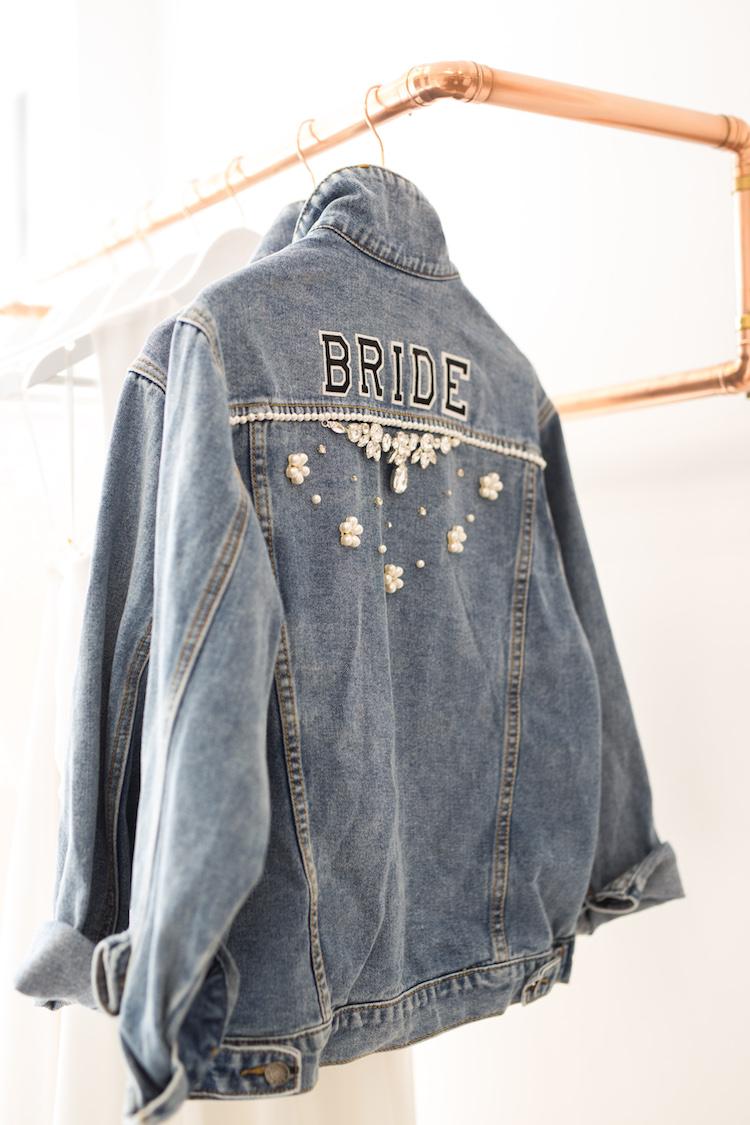And so to Wed - Beespoke - Bride Denim Jacket13.jpg
