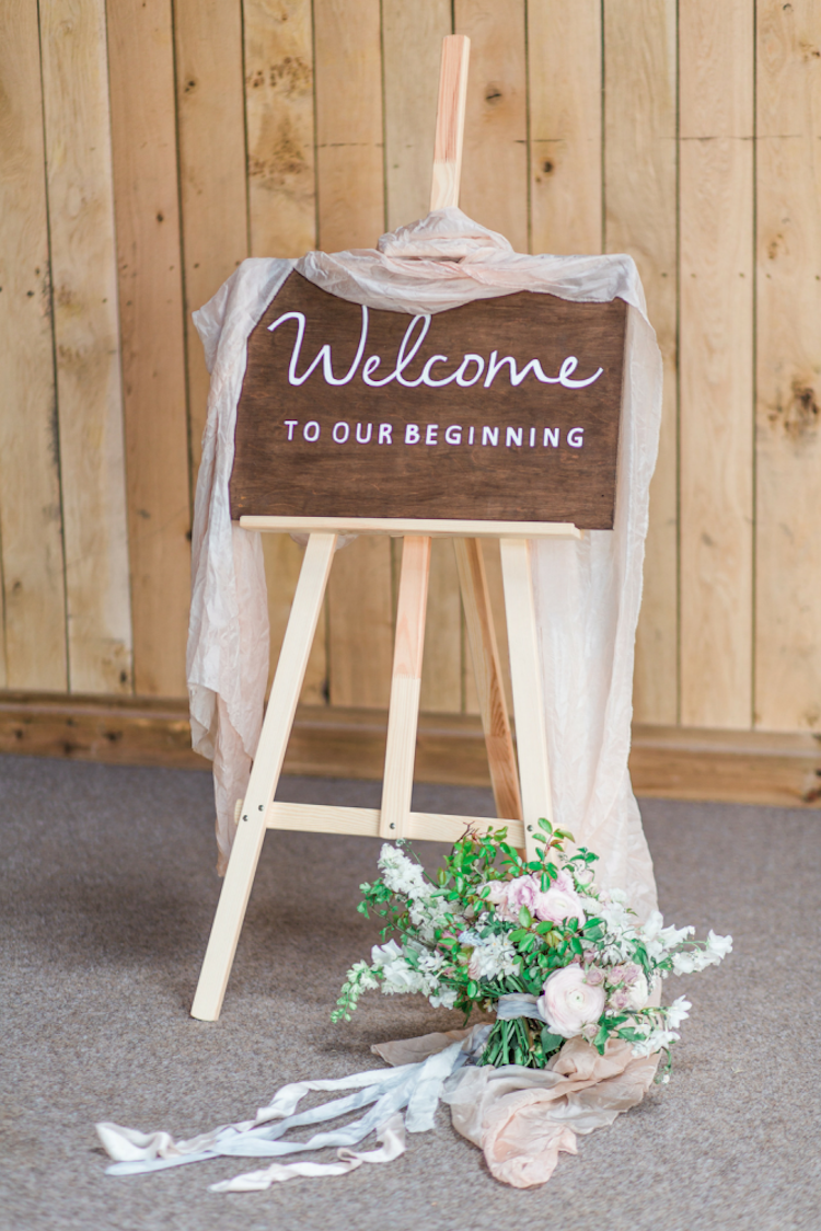 Personalised Wedding Sign ||  Emily K Weddings