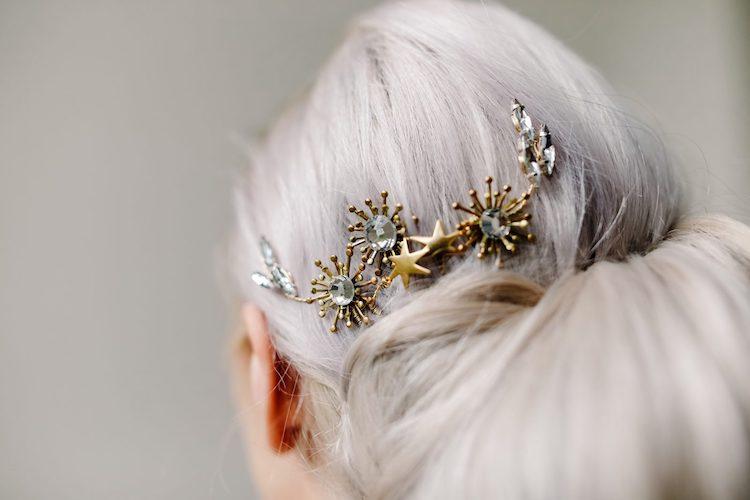 Bridal Hair Pins ||  Sixpenny Bride