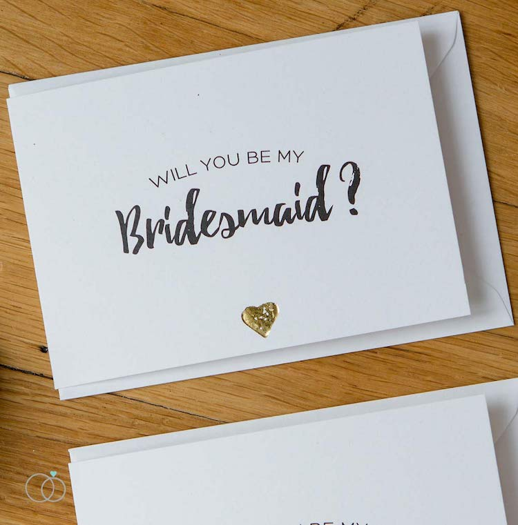 Bridesmaid Card by  LoveLi