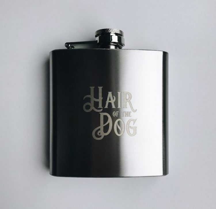 Hip Flask ||  Team Hen via And so to Shop