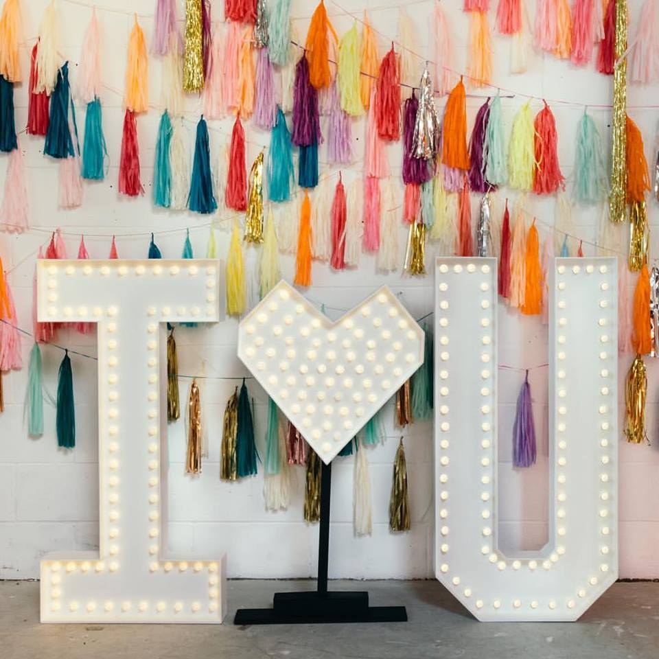 Light Up Letters - Doris Loves