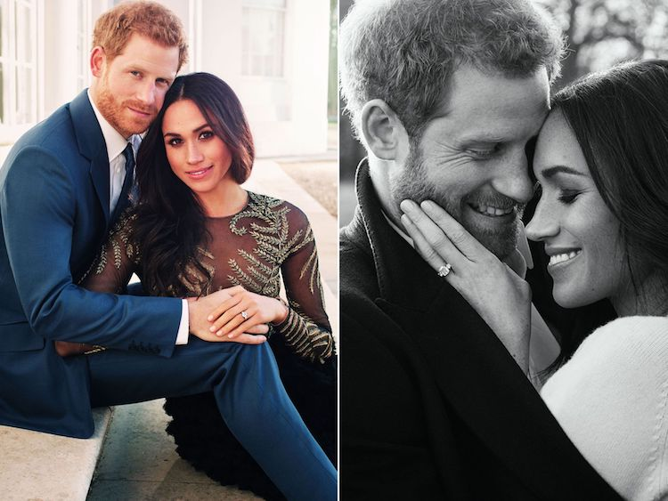 The royal couple's engagement photos. Pic: Alexi Lubomirsk