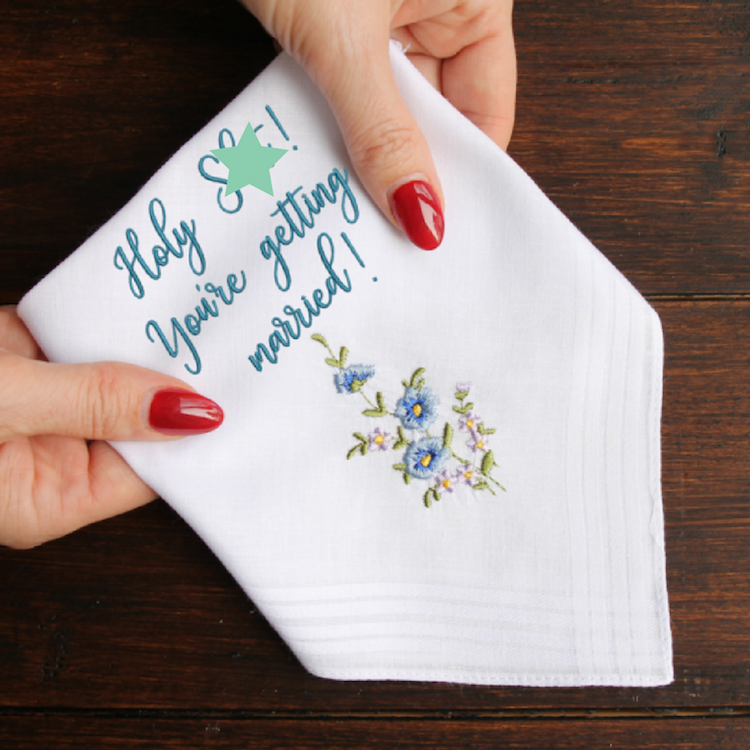 Smutty Handkerchief via And so to Shop