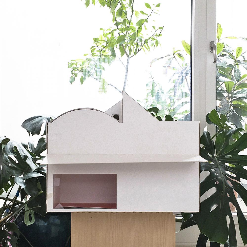 house in a garden