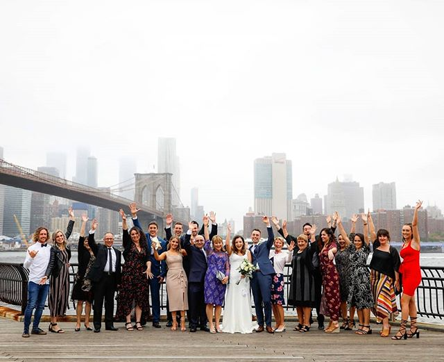 Every wedding is unique and incredibly special to us at New York Dream Weddings! We also like to have a lot of fun! #brooklynbridgepark #brooklynbridge #dumbo #janescarousel #skyline #weddingphotographer #wedding #weddingplannernyc #elopement #newyorkelopement #newyork #weddinginspo #newyorkdreamweddings #harleyhall #elopenyc #lighting #newyork #love #elope #creative #weddings #nywedding #harleyhallphotography #tourists #instawedding #weddingportrait #pix11news #huffpostido #huffpostweddings