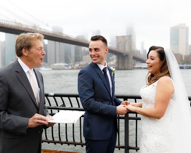 Our ceremonies are completely custom and revolve around your personal love story!#brooklynbridgepark #brooklynbridge #dumbo #janescarousel #skyline #weddingphotographer #wedding #weddingplannernyc #elopement #newyorkelopement #newyork #weddinginspo #newyorkdreamweddings #harleyhall #elopenyc #lighting #newyork #love #elope #creative #weddings #nywedding #harleyhallphotography #tourists #instawedding #weddingportrait #pix11news #huffpostido #huffpostweddings