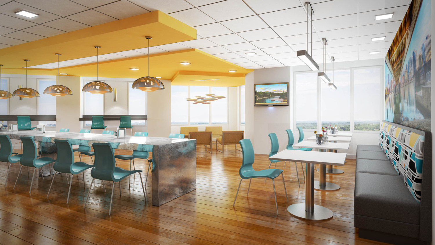 02 KPMG Pittsburgh Cafe Rendering