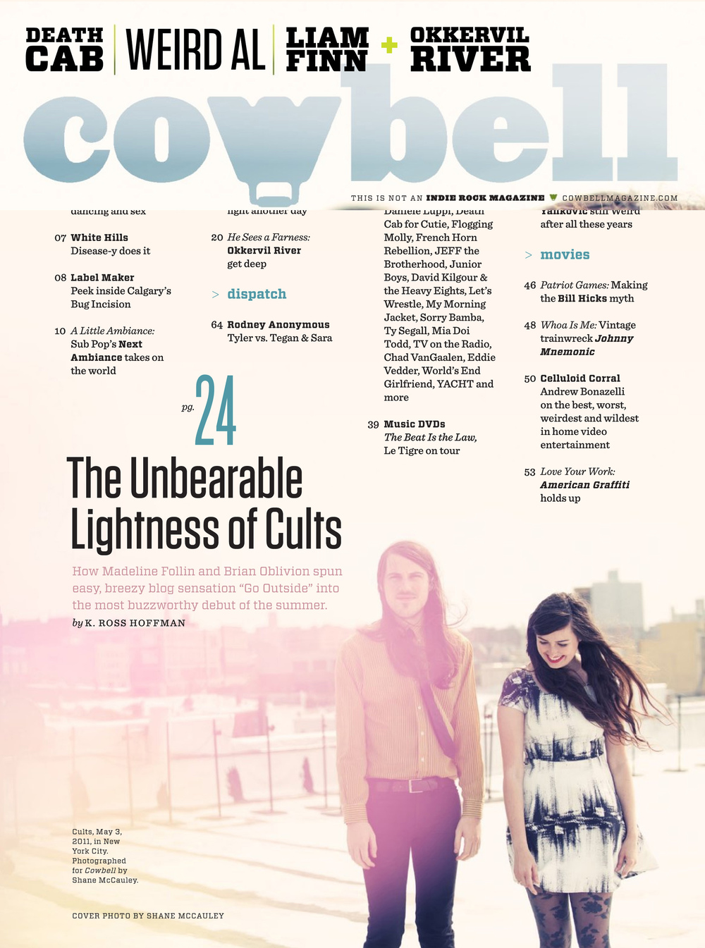 Cowbell Magazine Press Article