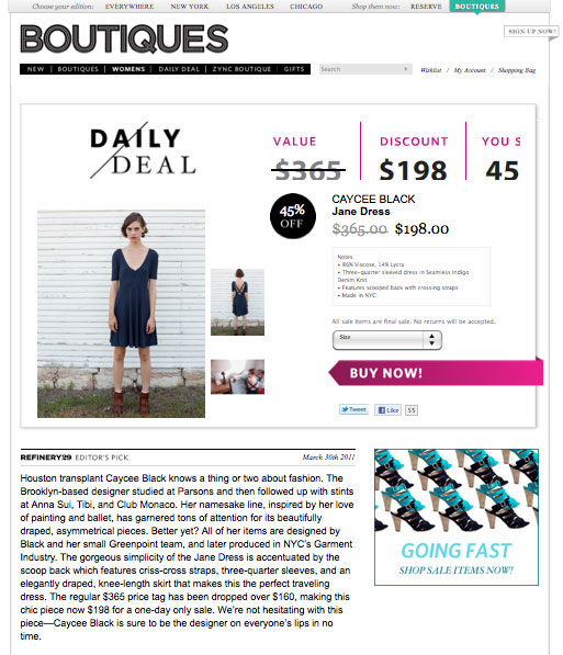 Boutique Daily Deal - Fall Dress