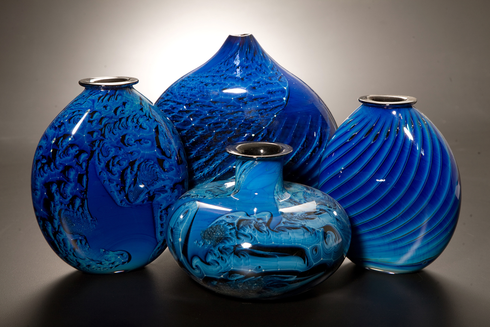 Blue New Mexico Glass