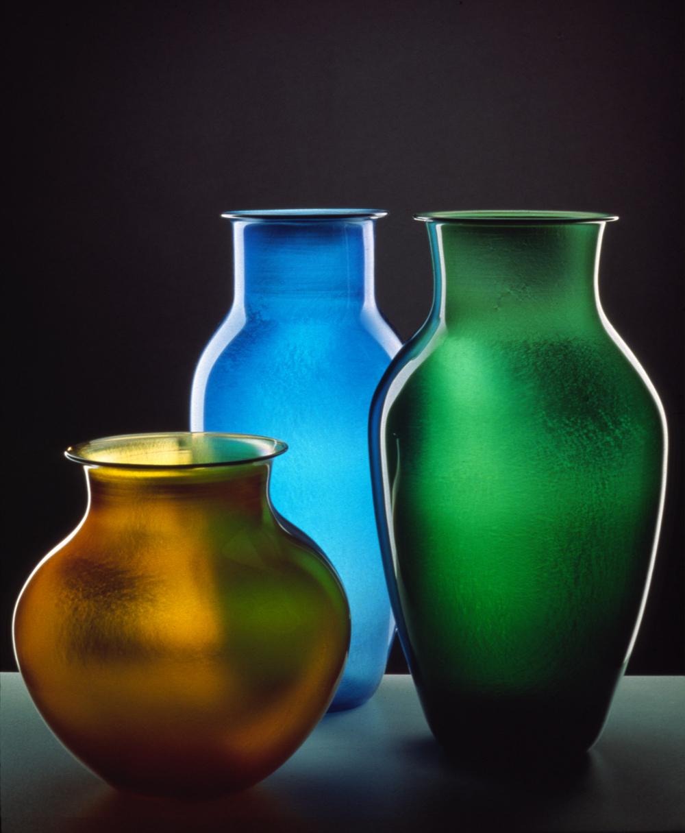Iridescent Vases