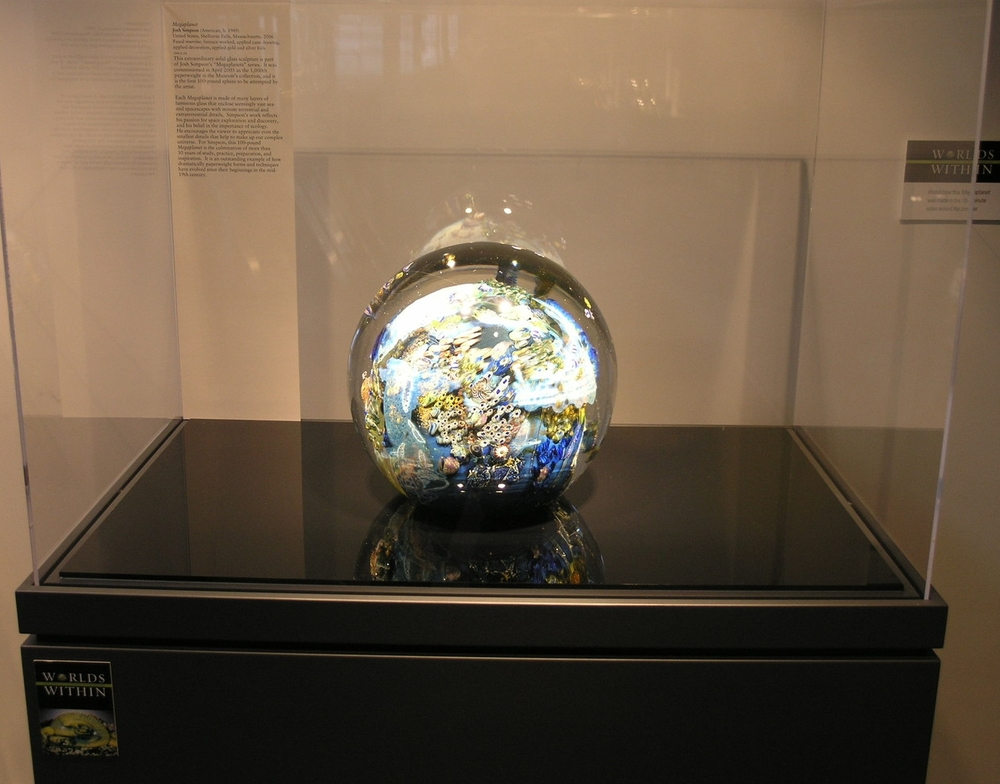 Worlds Within: The Evolution of the Paperweight;   Corning Museum of Glass; Corning, NY (2006)