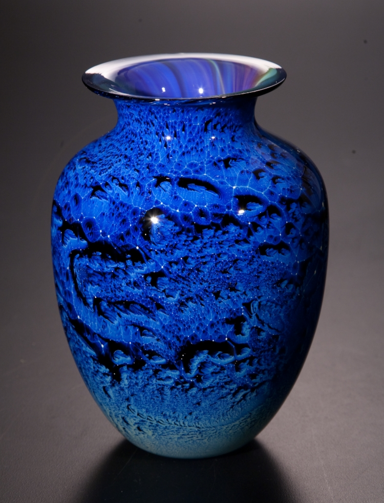 BLUE NEW MEXICO VASES