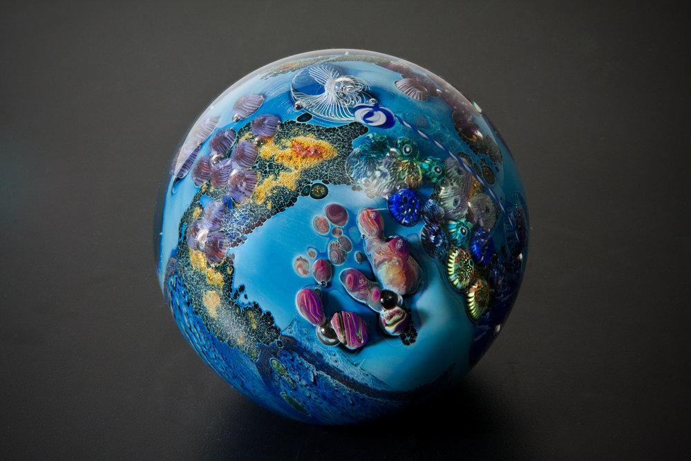 Josh Simpson Contemporary Glass Glass Planets