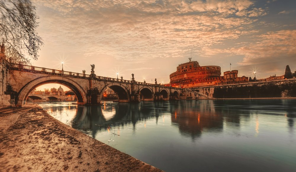 Opplev våren i Roma -