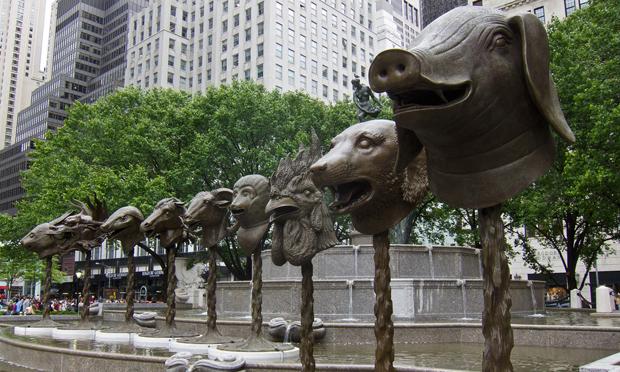 Ai Weiwei, scultpure 2010