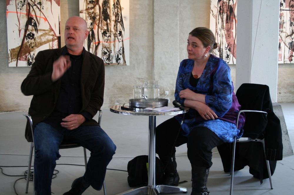 Artist talk i Nordatlantens Brygge