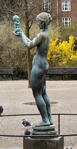 Kai Nielsen: Venus við súreplum. Fotomynd: Wiki
