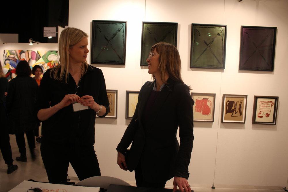 Johanne Andersson og Julie Sass