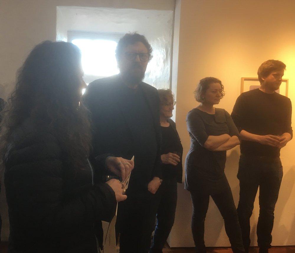 Steinprent Crew, Fríða, Jan, Louise og Magnus