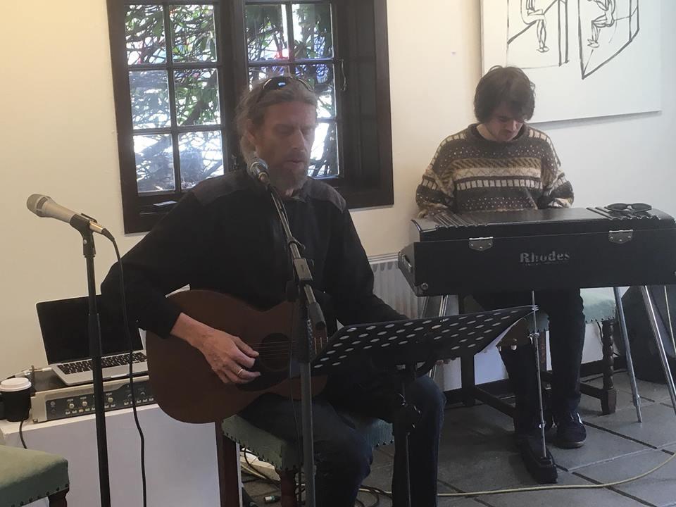 Kaj Klein og Mattias Kapnas spældu