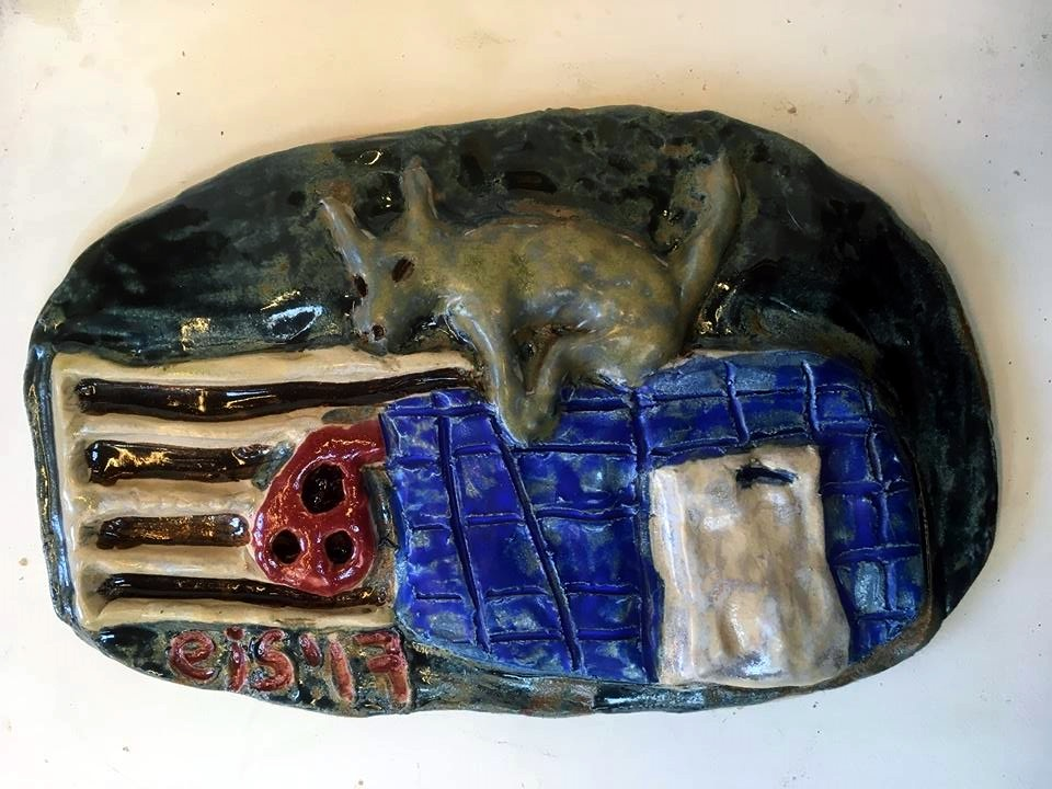 Eitt av keramikkverkunum