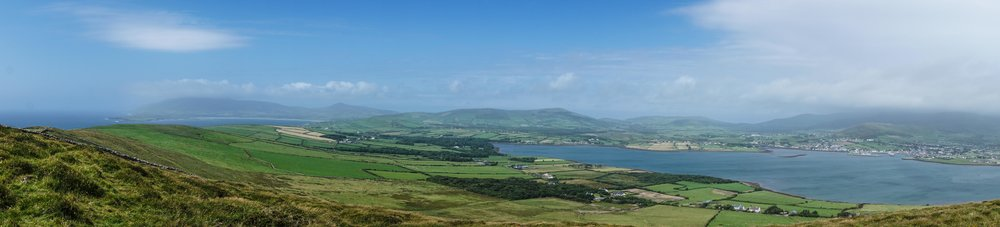 View of Dingle from Eask Tower