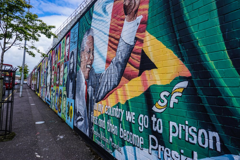"""Peace"" wall (side eyes)"