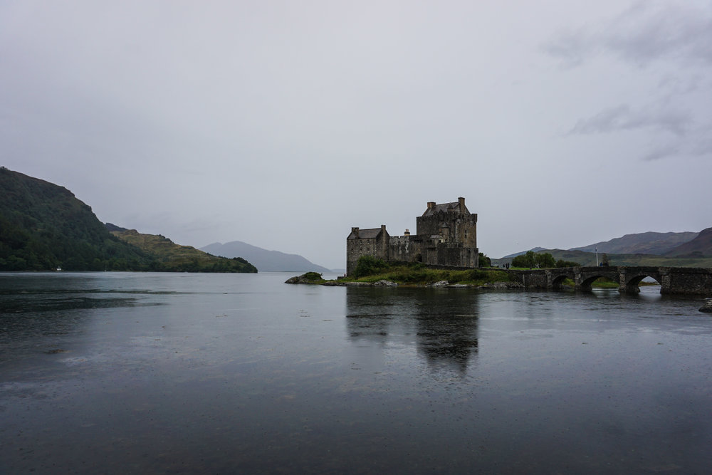 Eilean Donan - most photographed castle in the world (wonder why?)