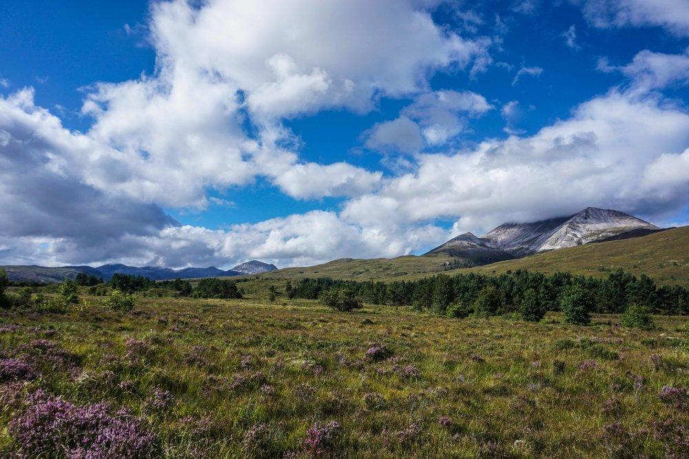 Ben Nevis - Highest Mountain in Scotland
