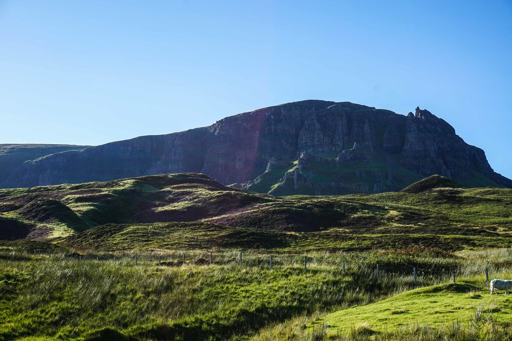 Quiraing - crazy old rock formations