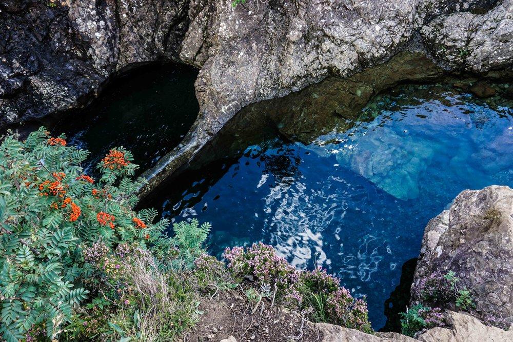 Deep fairy pools