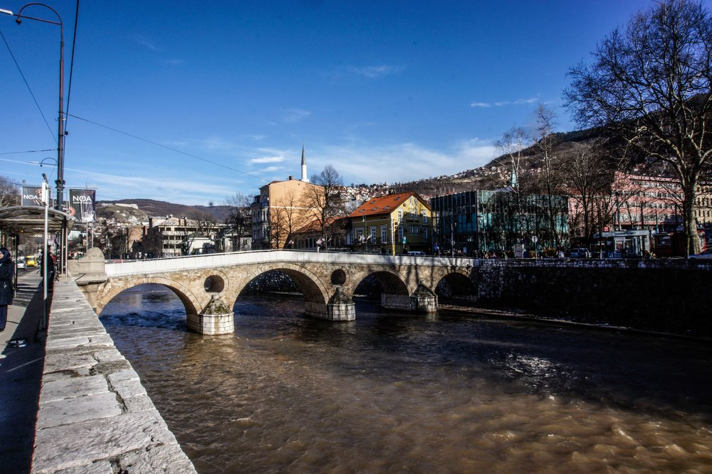 Latin Bridge: Where Archduke Franz Ferdinand was assinated, which started WWI