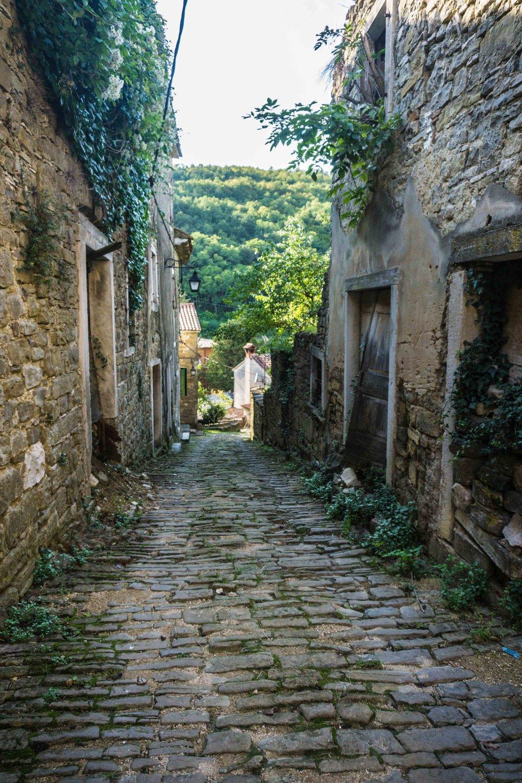 Završje - an abandoned town