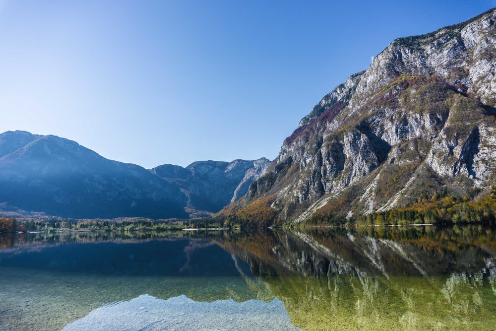 Lake Bohinj - A deep dive into reflections