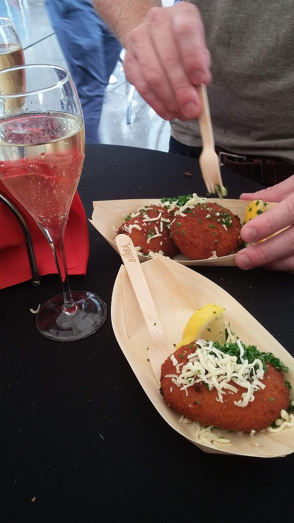 Cava & Fried Cheese