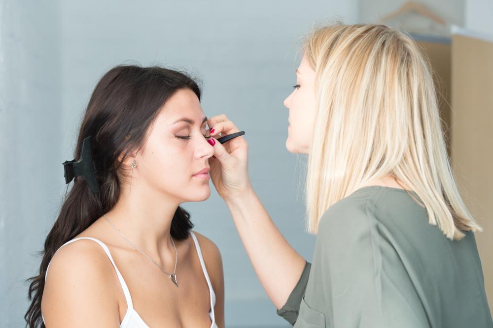 Professional makeup artists
