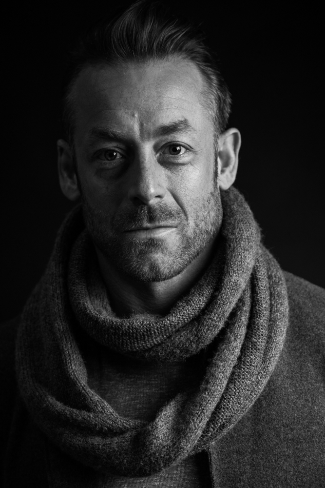Cinematic actor headshot
