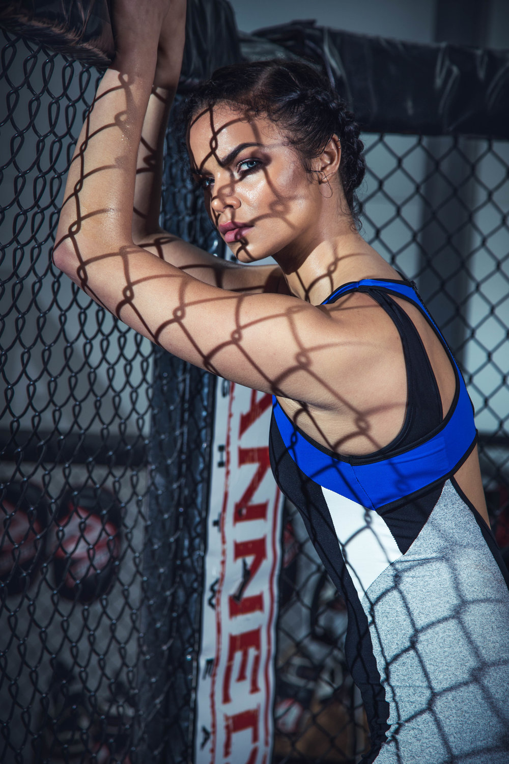 Octagon cage mma phptographer