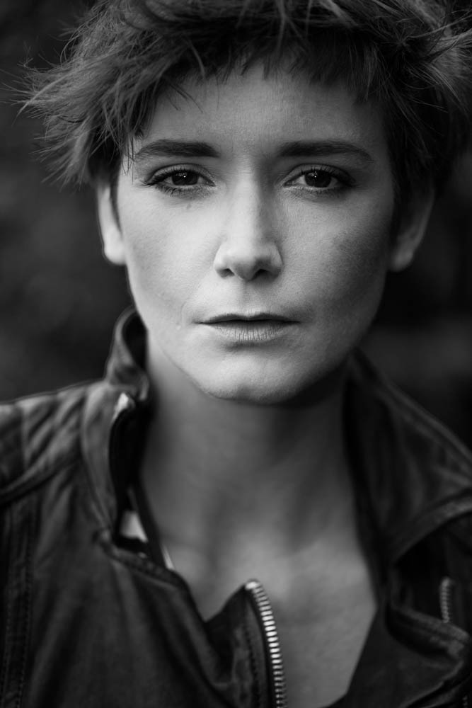 Something so special about a monochrome headshot