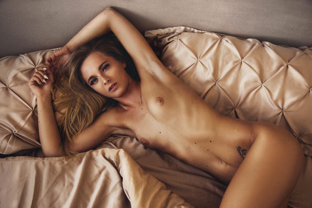 The gold standard of boudoir