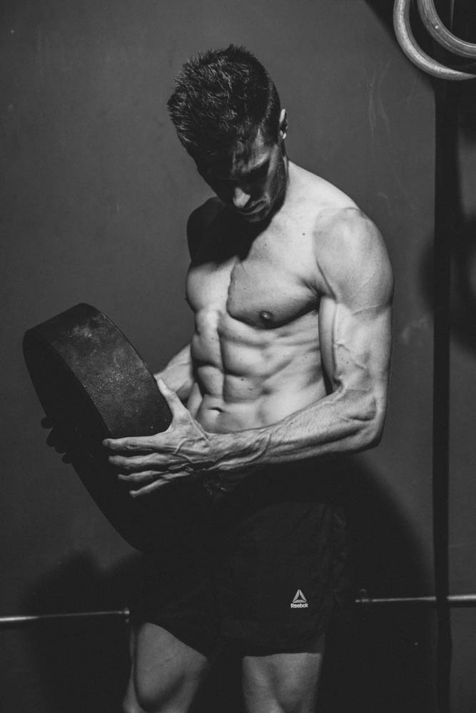 Personal trainer photography