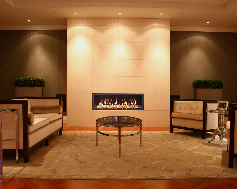 Town & Country's Contemporary Gas Fireplaces