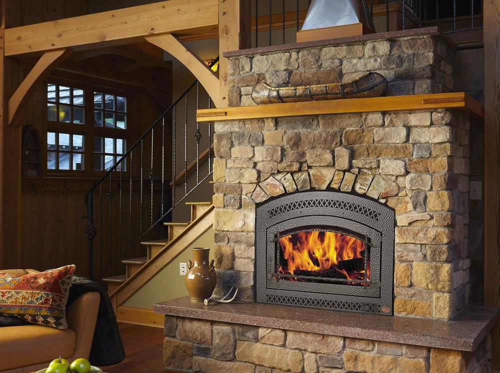 Fireplace Xtrordinair Closed Zero-Clearance Wood Burning Fireplaces